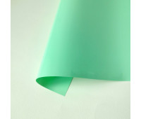 Термотрансферная пленка матовая, цвет мята, 10х25 см