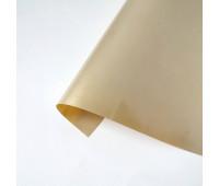 Термотрансферная пленка, цвет светлое золото с перламутром, 10х25 см