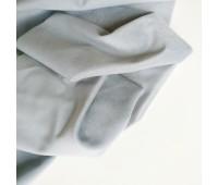 Велюр микро, цвет серый с голубым, 25-50 см