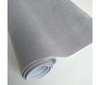 Велюр микро с фактурой полоска, цвет серый, 25-35 см